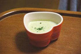 黒豆の枝豆ポタージュスープ