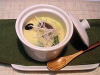 簡単!黒豆の中華風茶碗蒸し